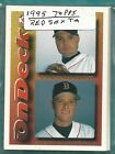 1995 TOPPS BOSTON RED S0X TEAM SET (18)