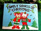 "VINTAGE 80'S MICE ON COVER MINI ""FAMILY SONGS OF CHRISTMAS"" BOOK ORNAMENT"