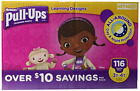 Huggies Pull-ups Traning Pants for Girls Size L, 3T - 4T, 116 ct.