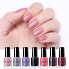 NICOLE DIARY 6ml Peel Off Matt Nagellack Shining Water Based  Nail Art Varnish