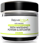 Activated Charcoal Powder for Teeth Whitening Detox w/ Kaolin Cocnut Oil & Mint