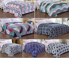Printed Blanket Micro Plush Ultra Soft & Warm Bed Blanket For Bed, Couch or Sofa image