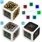 Vegas Golden Knights Digital Alarm Clock Color Change Thermometer Decor $10.99 USD on eBay