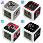 Atlanta Falcons Digital Alarm Clock Color Changing Decor Office on eBay