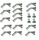 "1-1/2"" Pipe High Peck Canopy Fittings Kit for 10' x10'/20'/30'/40' Carport Patio"