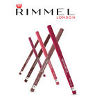 RIMMEL EXAGGERATE AUTOMATIC / LASTING FINISH LIP LINER - ALL SHADES