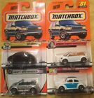 Matchbox VW VOLKSWAGON BEETLES '62 And Concept 4 Total From 200&2001
