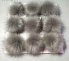Faux Fur Pom pom bobble Handmade Pompom Size 10CM for Hat Bag Clothes DIY