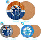 Edmonton Oilers Wooden Coaster Pad Cup Mug Mat Placemat Table $3.49 USD on eBay