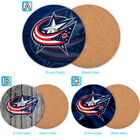 Columbus Blue Jackets Wooden Coaster Pad Cup Mug Mat Placemat Table $3.49 USD on eBay