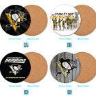 Pittsburgh Penguins Wooden Coaster Mat Coffee Cup Bowl Pad Kitchen $3.49 USD on eBay