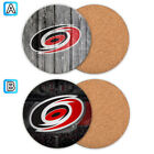 Carolina Hurricanes Wooden Coaster Mat Placemat Cup Pad Kitchen $3.49 USD on eBay