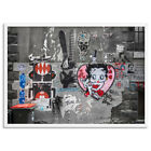 Melbourne Street Art. Urban Wall Art Print. Betty Boop Graffiti Wall | URB-06 $50.0 AUD on eBay