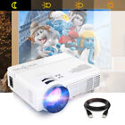 Mini LCD Home Cinema Projector 2400 Lumens LED Support Android 1080P w/ Speaker