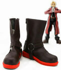 Fullmetal Alchemist Edward Elric Cosplay Shoes Boots Cos Shoes Free shipping