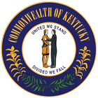 Kentucky State Seal Vinyl Flag Decal Sticker  Multiple Sizes To Choose From