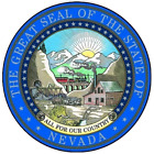 Nevada State Seal Vinyl Flag Decal Sticker  Multiple Sizes To Choose From