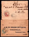 Indo China early postal history covers x 2 WS12274