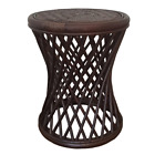 Natural Rattan Wicker Handmade Universal Round Stool Patio model Mikki 5 Colors