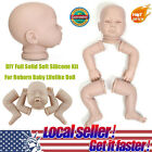 HOT Full Solid Silicone Handmade DIY Kits Toys For Reborn Baby Lifelike Doll P2