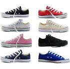 NEW WOMEN'S MEN'S SPORTS CASUAL LOW HIGH TOP CANVAS SHOES SNEAKERS US STOCK