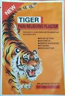 TIGER Hot Pain Relieving Herbal Plaster Patches Muscle Relief, Strains,Arthritis