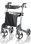 Topro Troja Classic Rollator Walking Frame Brakes Includes Backrest Bag & Seat