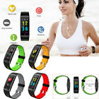 Fitness Tracker Sports Smart Wristband Heart Rate Detection for Samsung iPhone