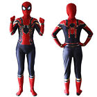 Kyпить Kinder Jungen Iron Spiderman Kostüm Cosplay Jumpsuit Overall Weihnachten Party на еВаy.соm