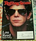 Rolling Stone Magazine November 2013 Lou Reed plus Naya Rivera back cover