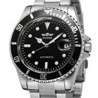 Winner Mens Stainless Steel Luxury Business Automatic Mechanical Wrist Watches