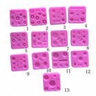 Mini Miniature Food Sweets Jewelry Charms Mold Gemstone Mold Silicone Mold
