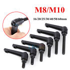 M8 M10 Alloy Clamping Lever Machinery Adjustable Locking Threaded Handle Knob