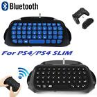 2.4G Mini Wireless Chatpad Message 47 Keys Keyboard for PS4/ PS4 SLIM Controller