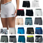 "NIKE Women's Pro Dri-Fit Compression Spandex 3"" Shorts Tennis Yoga Running"