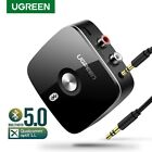 Ugreen Bluetooth Receiver 5.0 Aptx Wireless Audio Music RCA Adapter for Car iPad