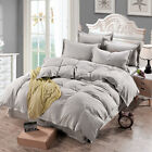 Duvet Quilt Cover Bedding Set Single Double Queen King Size Comforter Set. image