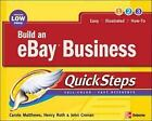 QuickSteps: Build an eBay Business QuickSteps by John Cronan, Henry Roth and...