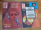 Vintage 2 X Worlds of If Science Fiction: 1972, Asimov, Harrison, Benford, Green