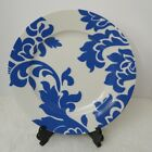Martha Stewart Collection for Macys Blue Floral Scroll Dinner Plate Sets of 4 Ea