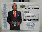 2007 Upper Deck Kevin Duran ROOIE CARD DRAFT NOTICES , 2 Time Finals MVP