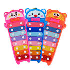 Cartoon Colorful 8 Note Xylophone Wooden Stick Musical Development Kids Toy Hot