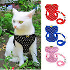 Soft Mesh Small Dog Harness And Leash Set Puppy Cat Pet Jacket Vest Lead Comely