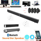 Wireless Bluetooth Powerful TV Sound Bar 3D Speaker Box Home Theater Subwoofer