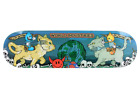 WORLD INDUSTRIES Flameboy Wet Willy Devil Man Cats Jousting Skateboard Deck image