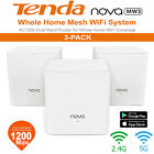 Tenda Nova MW3 Wireless WiFi Routers Repeater 1200Mbps Dual-Band 2.4GHz+5GHz#