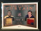 2017-18 In The Gane Used The Final Curtain Phil Esposito Jean Ratelle 5/9 Dual