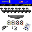 Home Security Camera System Analog HDMI AHD 8CH AHD DVR 3000TVL Outdoor CCTV 1TB