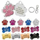 Personalized Engraved Pet Dog Tags ID Name Collar Pendant Cat Puppy Accessories