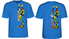 Powell Peralta Skateboards RAY BARBEE Sean Cliver Ragdoll Royal Blue T-Shirt image